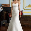 Sweetheart Corset Strapless 2012 Wedding Dress