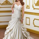 Sweetheart Applique Strapless 2012 Wedding Dress