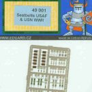 Eduard 1/48 Seatbelts USAF & USN WWII 49001