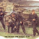 Dragon 1/35 German Survivors Panzer Crew 6129