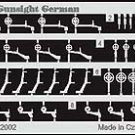 Eduard 1/48 German Aircraft Gun Sites