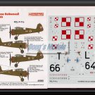 Techmod 1/48 PZL P-11c 48060