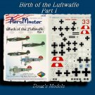 Aeromaster 1/48 Birth of the Luftwaffe Pt. 1