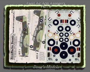 Aeromaster 1/48 Fleet Air Arm Avengers Pt. 1