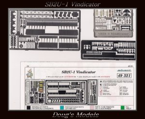 Eduard 1/48 SB2U-1 Vindicator PE Detail Set 48 321