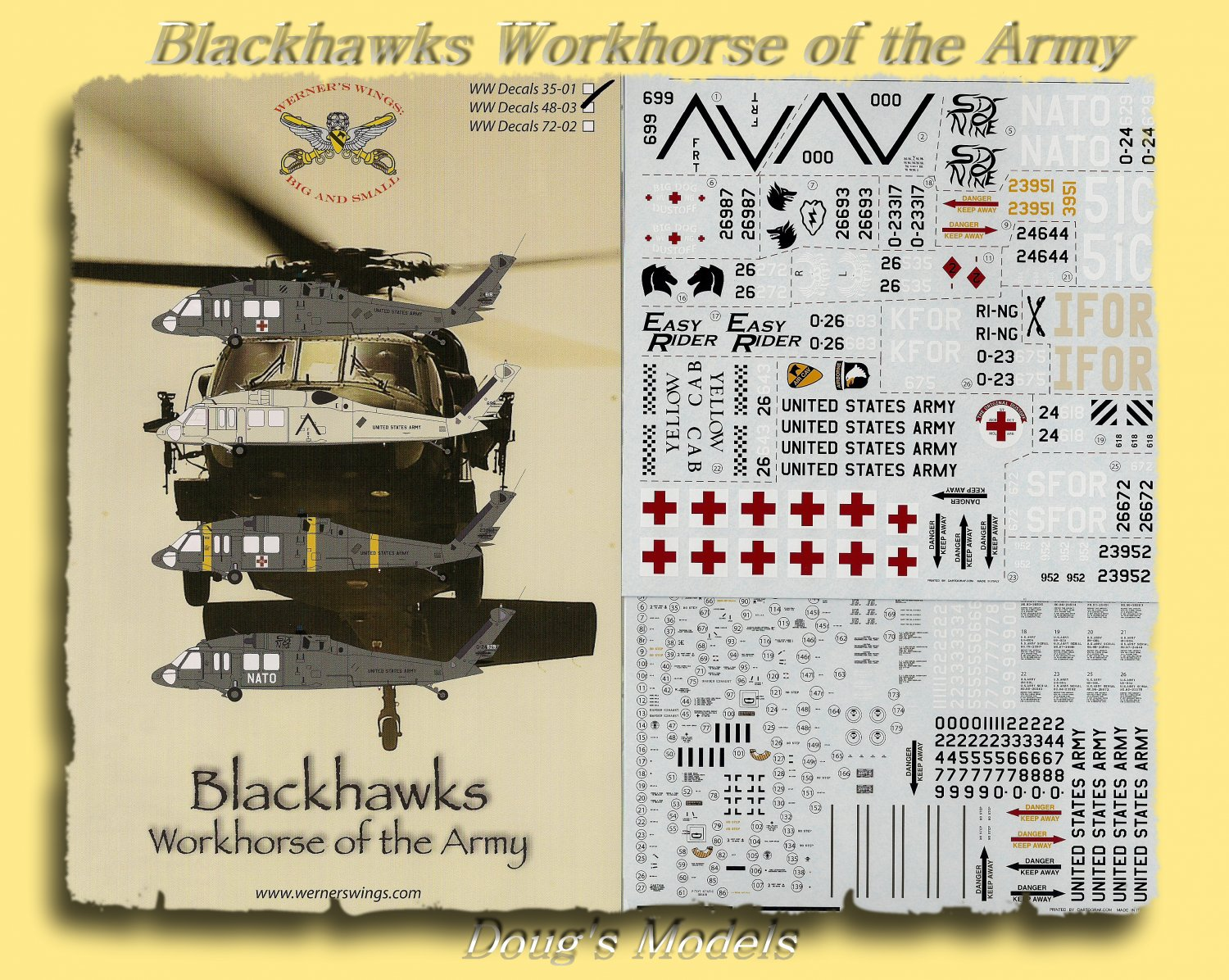 Werner's Wings 1/48 Blackhawks Workhorse of the Army