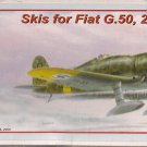 AML 1/48 Skis for Fiat G.50, 2nd Series.