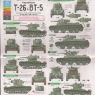 Bison Decals 1/35 Spanish Civil War Republican T-26 & BT-5 35134