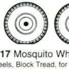 True Details 1/48 Mosquito Wheel Set