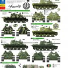 Bison Decals 1/35 Afghan Tanks Part I 35088