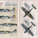 Lifelike Decals 1/48 Focke Wulf Fw190 Pt. I 48-001