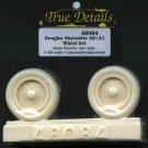 True Details 1/48 Douglas Skyraider AD/A1 Wheel Set 48084
