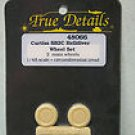 True Details 1/48 Curtiss SB2C Helldiver Wheel Set 48066