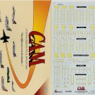 CAM 1/48 Formation Light Panels F-4/F-14/F/A-18/A-6/S-3/A-10 48-A001