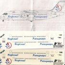 Pointer Dog 1/144 BAe 146-200 Regional Paraguaya