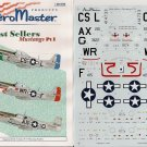 Aeromaster 1/48 Best Sellers Mustangs Pt. I 48-539