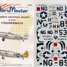 Aeromaster 1/48 P-47 N Thunderbirds Hawaiian National Guard 48-533