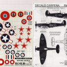 Decals Carpena 1/48 Spitfire Exotics Pt. 5 48.86