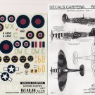 Decals Carpena 1/48 Spitfire Exotics Pt. 7 48.88