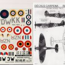 Decals Carpena 1/48 Spitfire Exotics Pt. 4 48.85