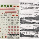 Decals Carpena 1/48 TCHAD 1983-1986 Manta & Epervier 48.01