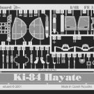 Eduard 1/48 Ki-84 Hayate Photo Etch EU 4143