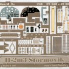 Eduard 1/48 Il-2m3 Stormovik Color PE Set 49 380