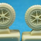 Ultracast 1/48 Messerschmitt Bf 109 B-E Wheels 48161