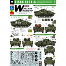 Bison Decals 1/35 Balkan Warrior in IFOR, SFOR, and KFOR Service 35002