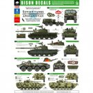 Bison Decals 1/35 Soviet Tanks in Afghanistan 35101