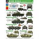 Bison Decals 1/35 Soviet Tanks in Afghanistan 35101