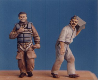 Hecker & Goros 1/48 Italian Pilot and Mechanic 1939-1945 KSHG 20