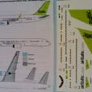Pointer Dog Decals 1/144 Air Baltic 757-200 256 2012