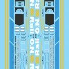 Microscale HO Ontario Northland (ONT) New Image Diesel Hoods Revised 11/2012 87-1395