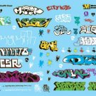 Microscale HO Limited Edition Graffiti Sheet Volume 3 87-1320