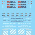 Microscale HO British Columbia Railway Diesels (1984+) 87-726