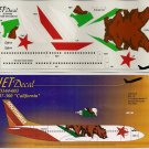 "Jet Decal 1/144 737-300 ""California"" 144-003"