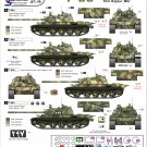 Star Decals 1/35 Syrian T-54 and T-55 Tanks in 1973 35-975