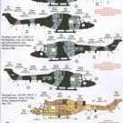Xtradecal 1/48 Westland Lynx X48110