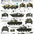 Star Decals 1/35 Russian AFVs South Ossetia War 2008 Pt. 1 35-985