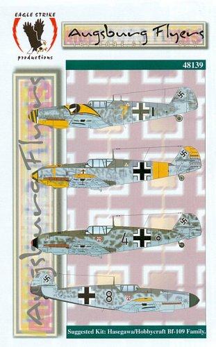 Eagle Strike 1/48 Ausburg Flyers Bf 109 E/G Part V 48139