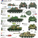 Star Decals 1/35 Cro-Army Croatian Tanks 1991-1995 35-06