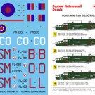 Techmod 1/48 North American B-25C Mitchell II 48004