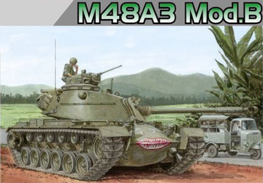 Dragon 1/35 M48 A3 Model B US MBT 3544