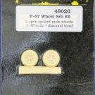 True Details 1/48 P-47 Wheel Set #2 48026