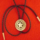 State of Texas Seal Bolo Tie
