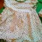 CARTERS SHAMROCK DRESS SIZE 24 MONTHS