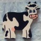 Wood Cow Puzzle, Hand Painted, Wood Creations and Crafts by Carolina Country Crafts