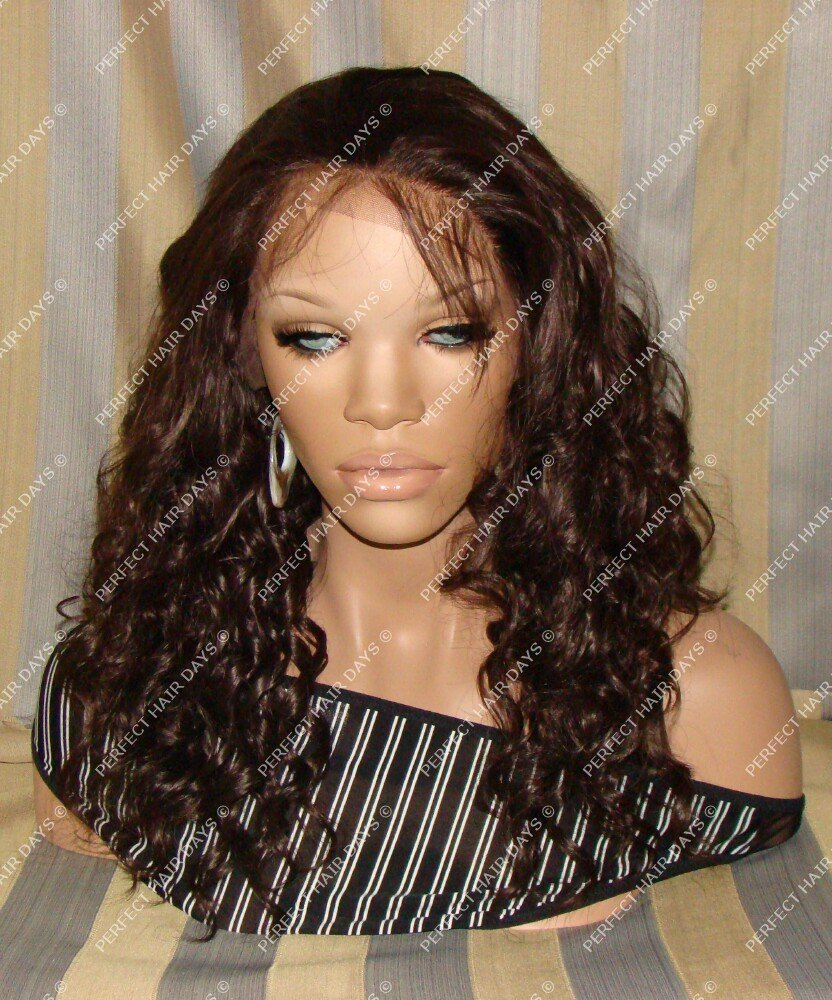 Synthetic Lace Front Wig #4 Deep Wave 20""