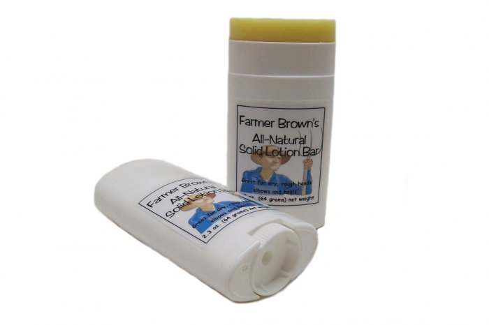 Farmer Brown's All-Natural Solid Lotion Bar 2.5 oz.